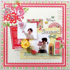 sweet*My  Ceative Scrapbook Limited Editoin Kit *Jan - Scrapbook.com