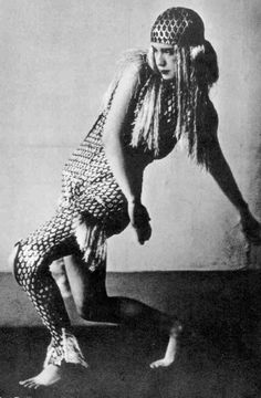 Lucia Joyce (1907-1982) in May 1929. Dancing at Bullier Ball in Paris, she was the daughter of James Joyce