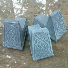 Items similar to Celtic Knot Pot Feet (Bluestone) Set of three, Irish Home Decor, Garden Art on Etsy Garden Shop, Garden Art, Garden Plaques, Tropical Garden, Celtic Knot, Artist At Work, Sculpting, Knots, Irish
