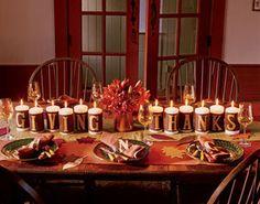 Thanksgiving table idea