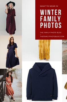 Gem Tones are gorgeous for winter family photos! The Family Photo Blog
