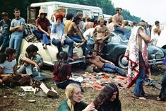Rare Photos of Life at Woodstock Festival 1969 -music, festival, black n white
