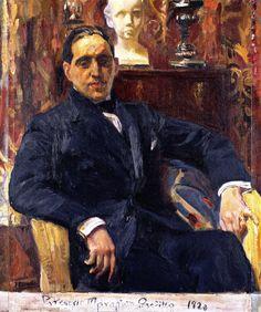 Joaquín Sorolla - portrait of Gregorio Maranon Posadillo