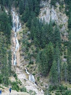 Horses' waterfall - located in Maramures county at 1300 meters altitude feet). Landscapes near Cascada cailor Tourist Places, Places To Travel, Places To Visit, Natural Scenery, Medieval Town, Wonderful Places, Adventure Travel, Landscape, Europe