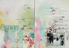 love this art journal page