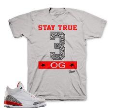 ba9388c27021fd Katrina Jordan 3 shirts match retro 3 shoes. Jordan Retro 3