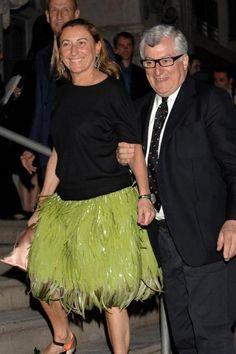miuccia prada | Miuccia Prada and her husband Patrizio Bertelli