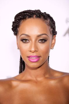 You need to see Keri Hilson's lipstick.