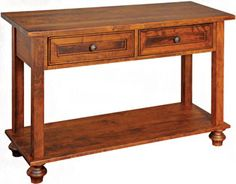 Camden Open Sofa Table - Sofa Tables - Kloter Farms