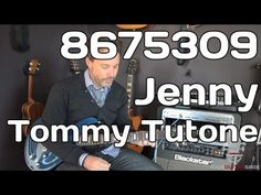 867-5309 Jenny/Tommy Tutone (tutorial) - cover by Tonedr - YouTube