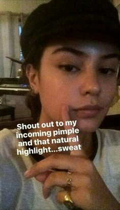 Courtney Eaton, Natural Highlights, Pimples, Shout Out, Instagram Story