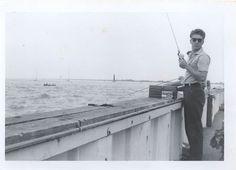 Grosse Pointe Park Michigan-Fishing Pier 1962 Pilotto Vittorio