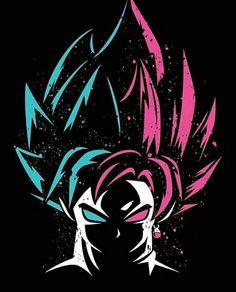 Super Saiyan Blue and Rose