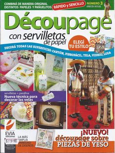 On Sale Decoupage with paper napkins MAGAZINE 3 by AmGiftShoP