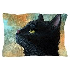Cat 545 Pillow Case for