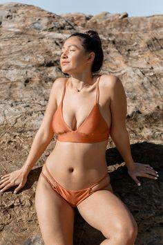 e8e6e564b5f Copper Sands Carmella Bralette Bikini Top. Goddess Swimwear