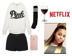 """""""I Need My Baby //My'Asia"""" by anons-lifestyle ❤ liked on Polyvore featuring Libbey, Topshop and Victoria's Secret"""
