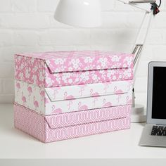 A practical and stylish way of organising office paperwork and useful in the home for storing household papers, receipts, recipes etc. Ideal for use in a bedroom, study, kitchen or office. All our beautiful handmade stationery and storage products are produced in an eco-friendly way, from 100% recycled materials
