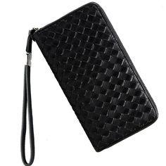 7014a65d7 [Visit to Buy] Luxury Brand Men Genuine Leather Wallet Top Sheepskin Men  Wallets Clutch