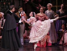 """The Joffrey Ballet's production of """"The Nutcracker."""" Every year at Christmas time but I've seen this performance once."""