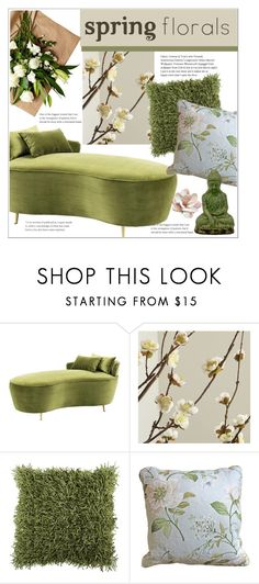 """""""Untitled #444"""" by sebi86 ❤ liked on Polyvore featuring interior, interiors, interior design, home, home decor, interior decorating, Eichholtz, Crate and Barrel, Home Decorators Collection and Urban Trends Collection"""