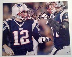 Tom Brady Rob Gronkowski Autographed 8x10 Photo   Score Sports and ...
