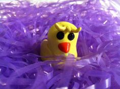 $5.50 Pete the chick: easter, polymer clay
