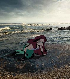 """""""Unhappily Ever After"""", the sad life of Disney characters after the end of the movies… From Ariel the Little Mermaid, a twisted serie that takes the opposing view to the wonderful world of Disney."""