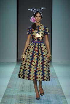 Sfilata Stella Jean Milano - Collezioni Primavera Estate 2014 - Vogue