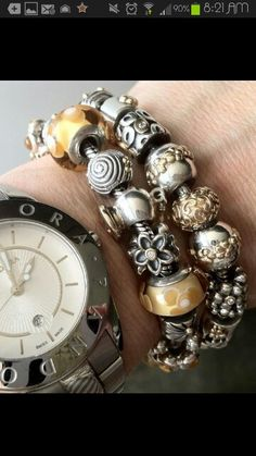 Love the combination with the Pandora watch! ~ PandoraMOA