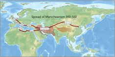 Spread of Manicheanism - Sasanian Empire - Wikipedia Parthian Empire, Sassanid, The Last Kingdom, Iranian Art, Carthage, Ancient Civilizations, World History, Islamic Art, Cover Photos
