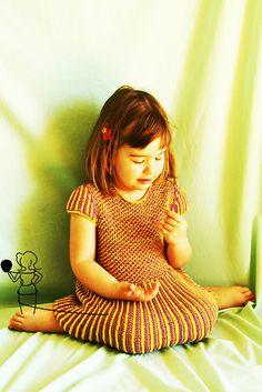 Cute brioche stitch dress. Shall I write down instructions for the dress?