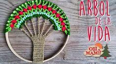 OH MAMI!: Árbol de la vida a crochet paso a paso
