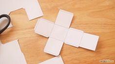 Vika låda av kartong pappet Make a 3D Cube Step 4 preview Version 2.jpg