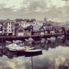 Falmouth, Cornwall harbour