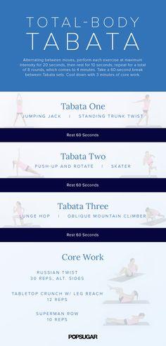 20-Minute Burn and Tone Tabata Workout