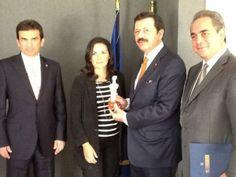 Με τον πρόεδρο των Τουρκικών Επιμελητηρίων κ. Hisarciklioglou, συναντήθηκε η υπουργός Τουρισμού κυρία Όλγα Κεφαλογιάννη