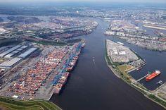 Luftbilder Hamburger Hafen