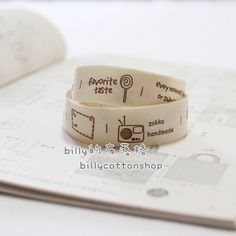 A personal favorite from my Etsy shop https://www.etsy.com/listing/202725869/k867-cotton-tape-sewing-tape-ribbon