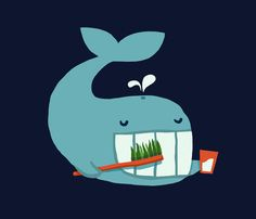Poster | BRUSH YOUR TEETH von Budi Kwan | more posters at http://moreposter.de