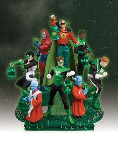 Green Lantern Legacies, 3part statue