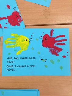Craft On Fish Topic Nursery Rhyme