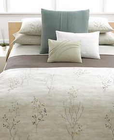 Calvin Klein Home Briar Duvet Covers - Duvet Covers - Bed & Bath - Macy's