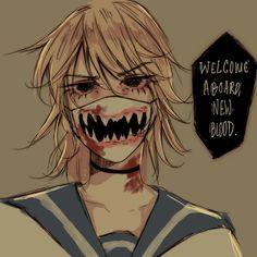 [OC] delinquent yandere-chan