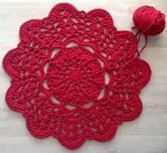 Free Pattern This Crochet Doily Rug Is An Affordable Way