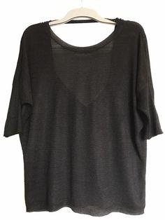 #t-shirt #dosnu AMISU ! Taille 40 / 12 / L  à seulement 3.00 €. Par ici : http://www.vinted.fr/mode-femmes/dos-nu/29361087-t-shirt-dosnu.