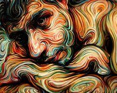 Swirling Self Portraits by Nikos Gyfaktis
