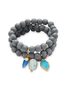 Vibrant stone accents with a one-of-a-kind look