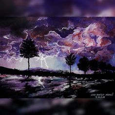 I love storms and lightnings  #art#painting#drawing#follow#night#slovenia#beautiful#artfido#shoutout#beauty#nature#shoutouts#artist#instagram#instagood#instadaily#love#work#happy#cool#photooftheday#photo#picture#inspiration#igers#landscape#instalike#awesome#instagramers#amazing