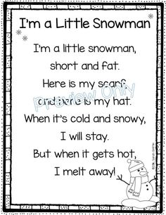 5 Winter Poems for Kids | Poetry Notebook